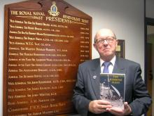 Publicity Photo with book.JPG