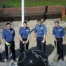 Pembroke House gardens get a helping hand from Victory Squadron